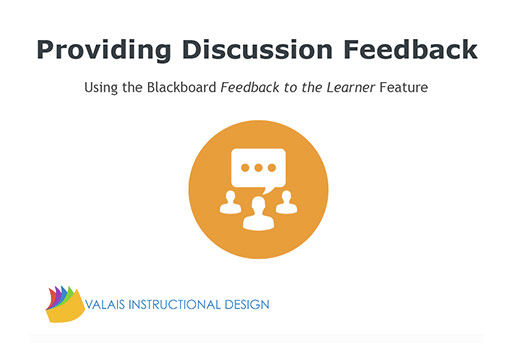 Feedback to the Learner
